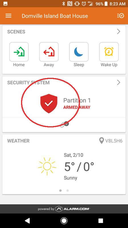 Alarm.com Mobile App Step 07