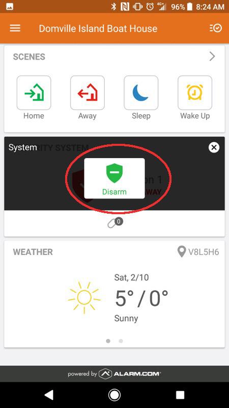 Alarm.com Mobile App Step 08