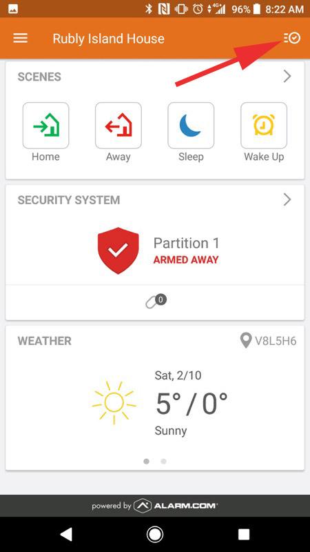 Alarm.com Mobile App Step 09