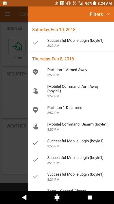 Alarm.com Mobile App Step 10