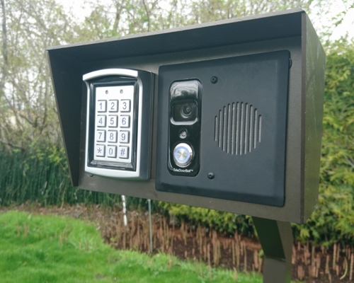 Teledoorbell Intercom Alarm Systems Victoria Bc Bullet Security